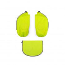 ergobag cubo Sicherheitsset mit Seitentaschen Gelb