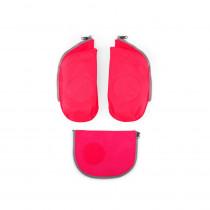 ergobag cubo Sicherheitsset mit Seitentaschen Zip-Set Pink