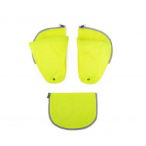 ergobag pack Sicherheitsset mit Seitentaschen Gelb