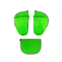 ergobag pack Sicherheitsset mit Seitentaschen Grün