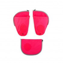 ergobag pack Sicherheitsset mit Seitentaschen Pink