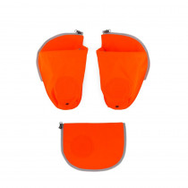 ergobag pack Sicherheitsset mit Seitentaschen Orange