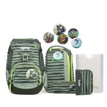 ergobag pack Schulrucksack Set Super NinBär 6tlg. Komplett