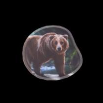 ergobag Kontur-Klettie Grizzly Bär