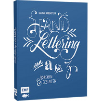EMF Handlettering Buch: Handlettering von A-Z