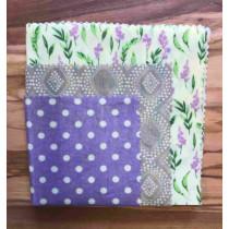 Bienenwachstücher 3er Set Lavendel