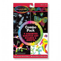 Scratch-Art-Blätter: Combo Pack
