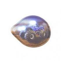 ergobag Klettie-LED Monstertruck