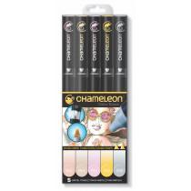 Chameleon Pen Pastelltöne 5er-Set