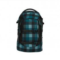 satch Schulrucksack pack Blue Bytes Front