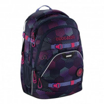 Schulrucksack Scalerale Purple Illusion