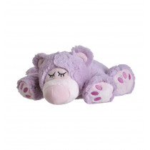 Beddy Bear Wärme-Stofftier Sleepy Bear lila