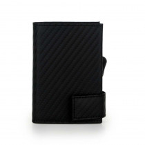 Kartenetui schwarz (Carbon)