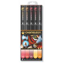 Chameleon Pen Warme Farben 5er-Set