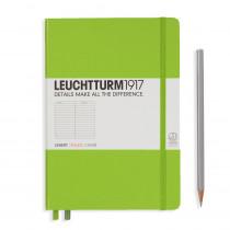 Leuchtturm1917 Notizbuch Medium (DIN A5) liniert, limone