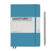Leuchtturm1917 Notizbuch Medium Hardcover A5 Nordic Blue, blanko