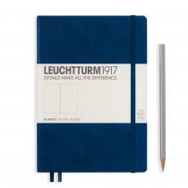 Leuchtturm1917 Notizbuch Medium (DIN A5) blanko, marine