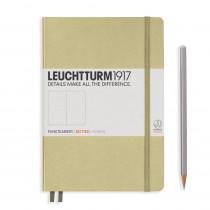 Leuchtturm1917 Notizbuch Medium (DIN A5) sand, punktkariert