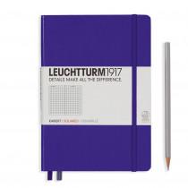 Leuchtturm1917 Notizbuch Medium Hardcover A5 violett, kariert