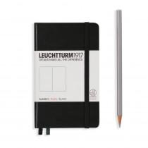 Leuchtturm1917 Notizbuch Pocket Hardcover A6 schwarz