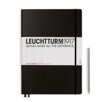 Leuchtturm1917 Notizbuch Master Classic Hardcover A4+ schwarz