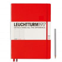 Leuchtturm1917 Notizbuch Master Slim (A4+) Hardcover rot