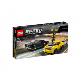 LEGO® Speed Champions 2018 Dodge Challenger SRT Demon und 1970 Dodge Charger R/T