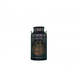 Milchkannen Laterne Le Chalet noire Grand