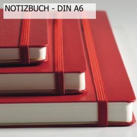 "Notizbuch ""Das Rote"" Pocket Hardcover A6"