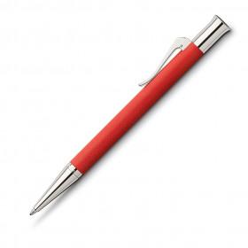 Graf von Faber-Castell Drehkugelschreiber Guilloche India Red
